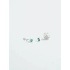 Fair Anita Nano Turquoise Stud Earrings Sterling