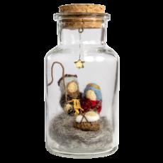 DZI Handmade Nativity Story Jar