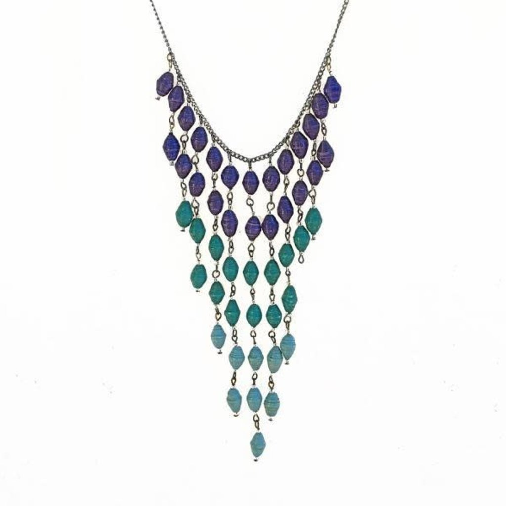 Creation Hive NECKLACE WATERFALL BEADS