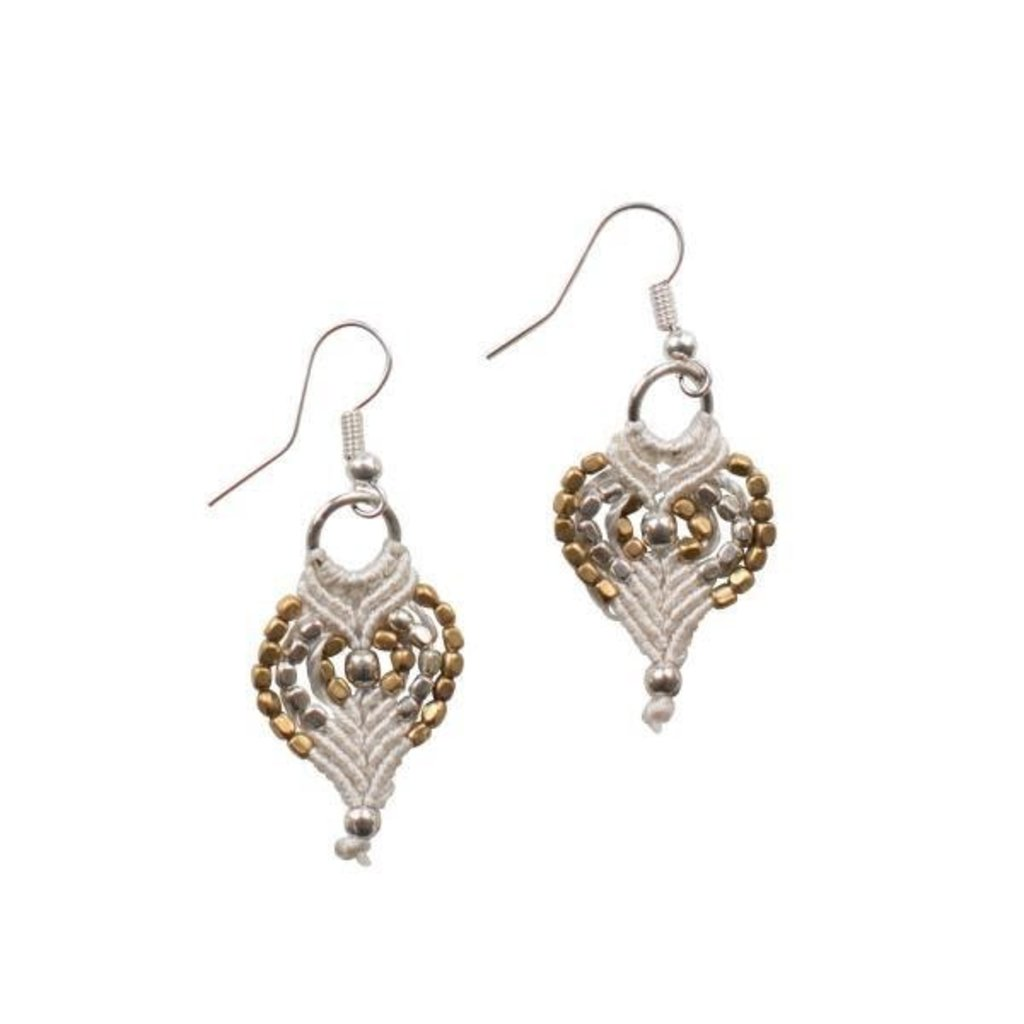 Ten Thousand Villages New Tradition Earrings