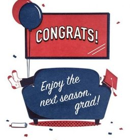 Good Paper Next Season Graduation Card