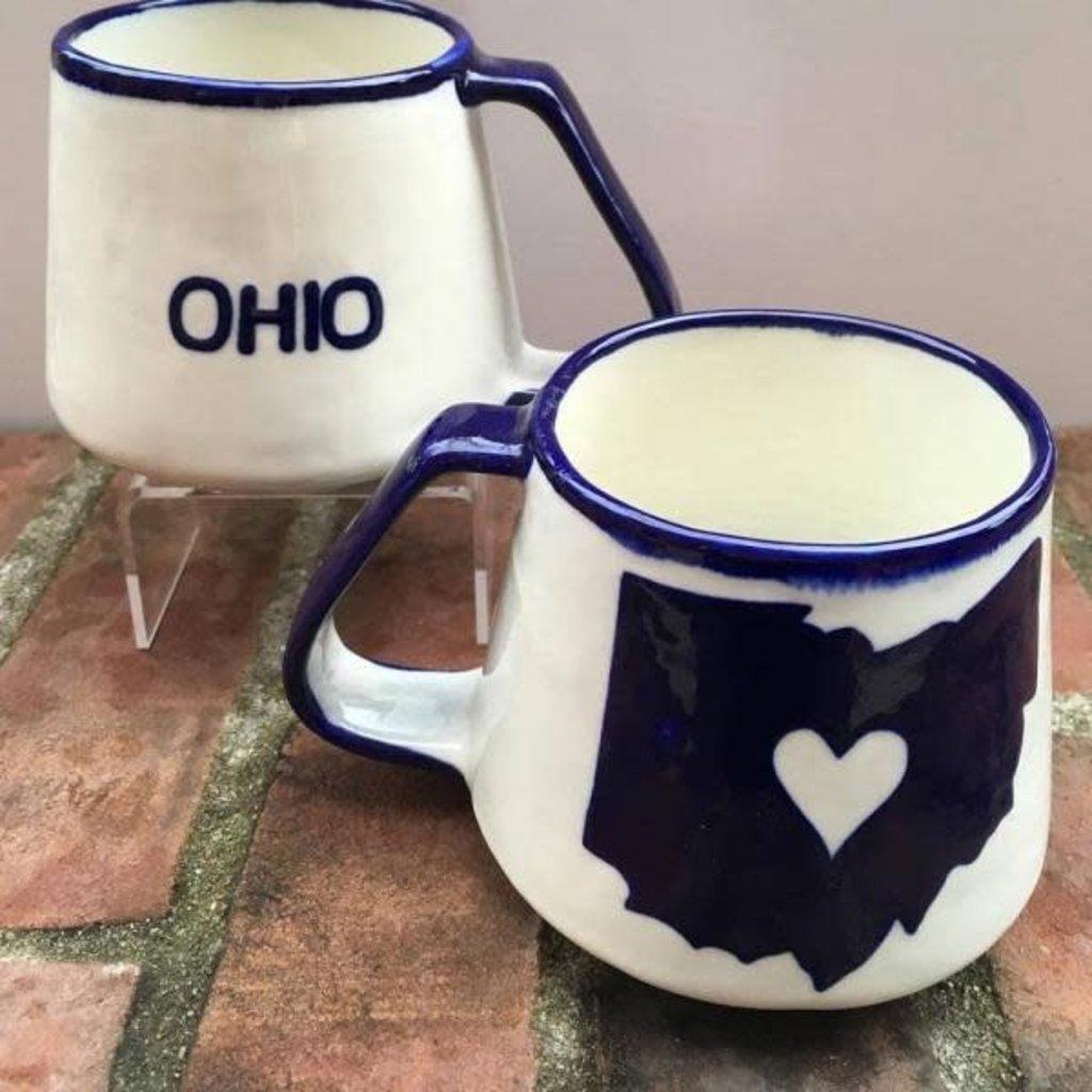 Lucia's Imports Ohio Love Ceramic Mug