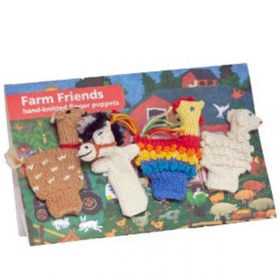 Lucuma Organic Finger Puppet Farm Set