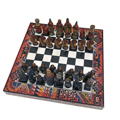 Minga Imports Peruvian Travel Chess Set