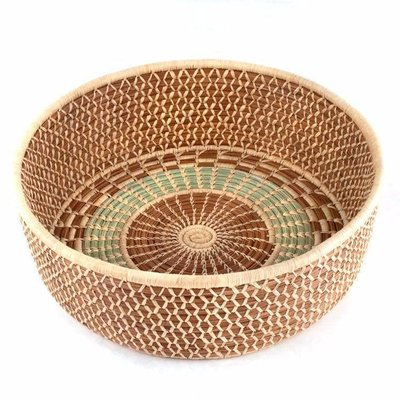 Mayan Hands Pine Needle and Wild Grass Harvest Basket