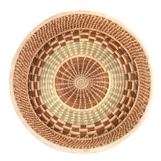 Mayan Hands Pine Needle and Wild Grass Harvest Basket