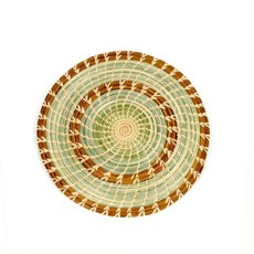 Mayan Hands Pine Needle and Wild Grass Trivet