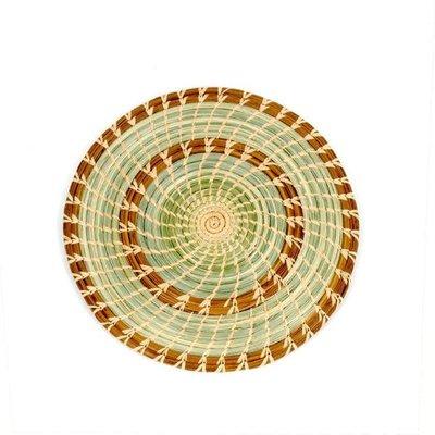 Mayan Hands Pine Needle and Wild Grass Trivet/Placemat