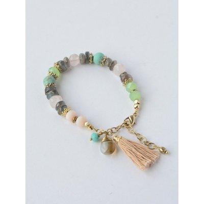 Fair Anita Playful Pastels Beaded Bracelet
