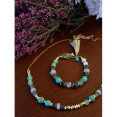 Fair Anita Playful Pastels Beaded Necklace