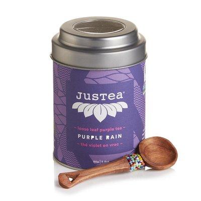 Just Tea Purple Rain Loose Leaf Tea Tin