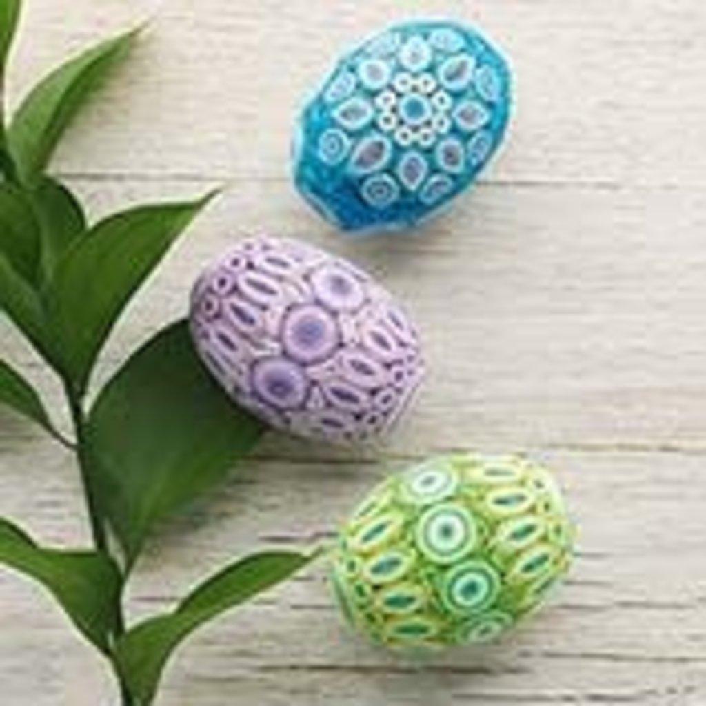 Serrv Quilled Egg in Pastel