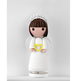 Quilling Card Quilled Love Angel Ornament with Stand