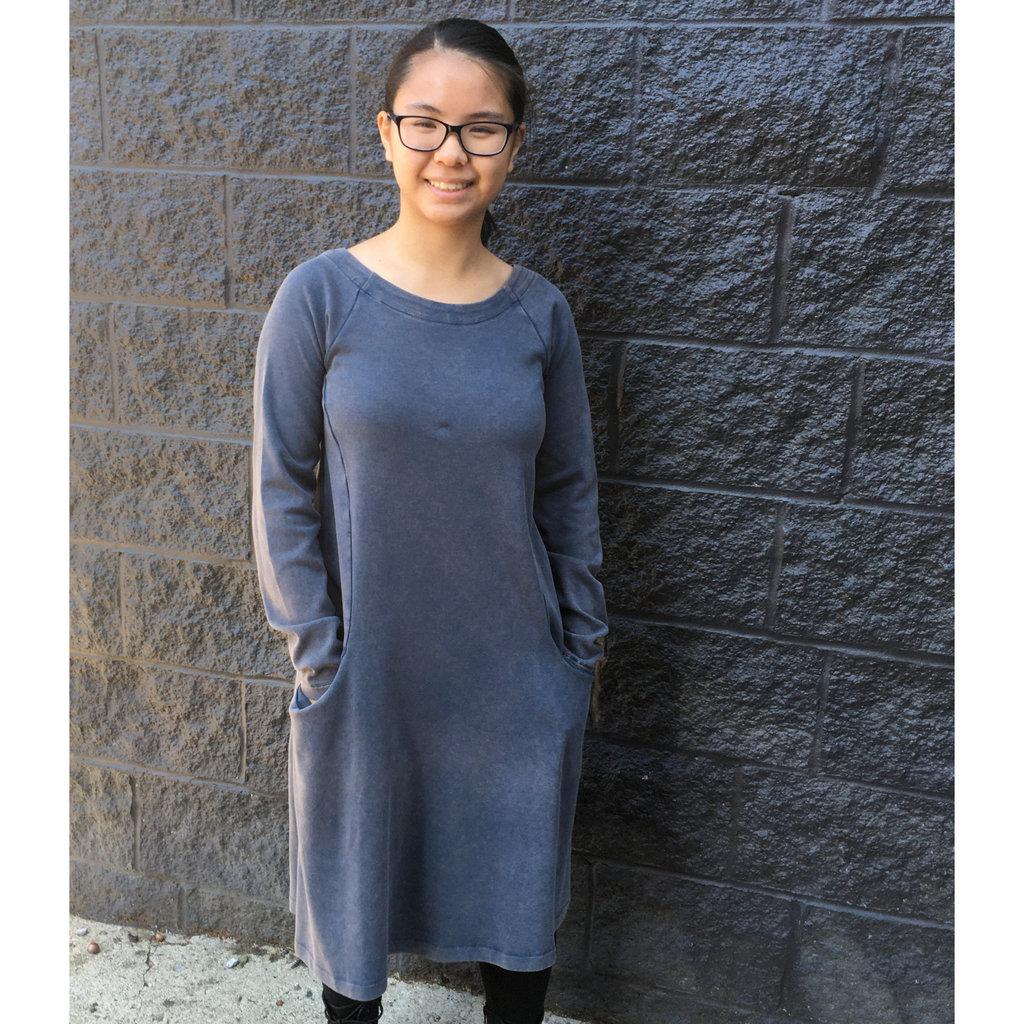 Maggie's Organics Raglan Rib Dress