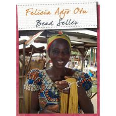 Global Mamas Rainbow Marble Recycled Glass Bracelet