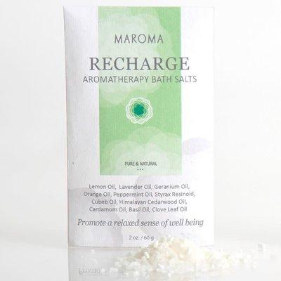 Maroma Recharge Aromatherapy Bath Salts