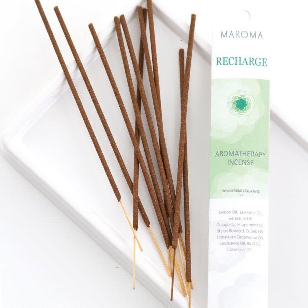 Maroma Aromatherapy Incense: Recharge