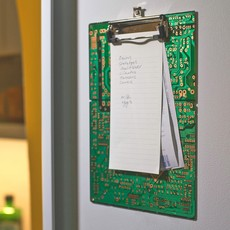 Ten Thousand Villages Recycled Circuit Board Clip Board