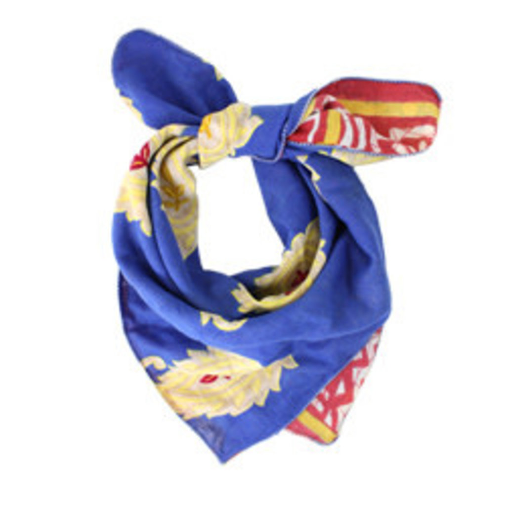 World Finds Recycled Cotton Sari Bandana