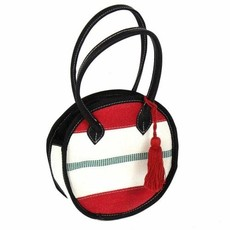 Global Crafts Recycled Firehose Round Handbag