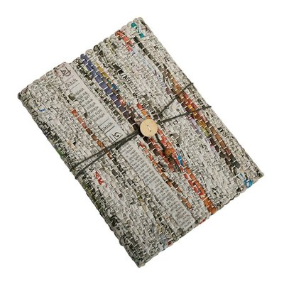Ten Thousand Villages Recycled Newsprint Journal
