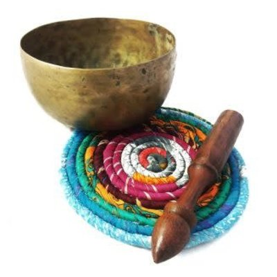 Ganesh Himal Recycled Sari Kitchen Trivet