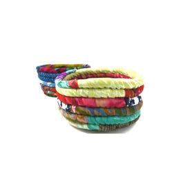 Ganesh Himal Recycled Silk Sari Stash Bowl