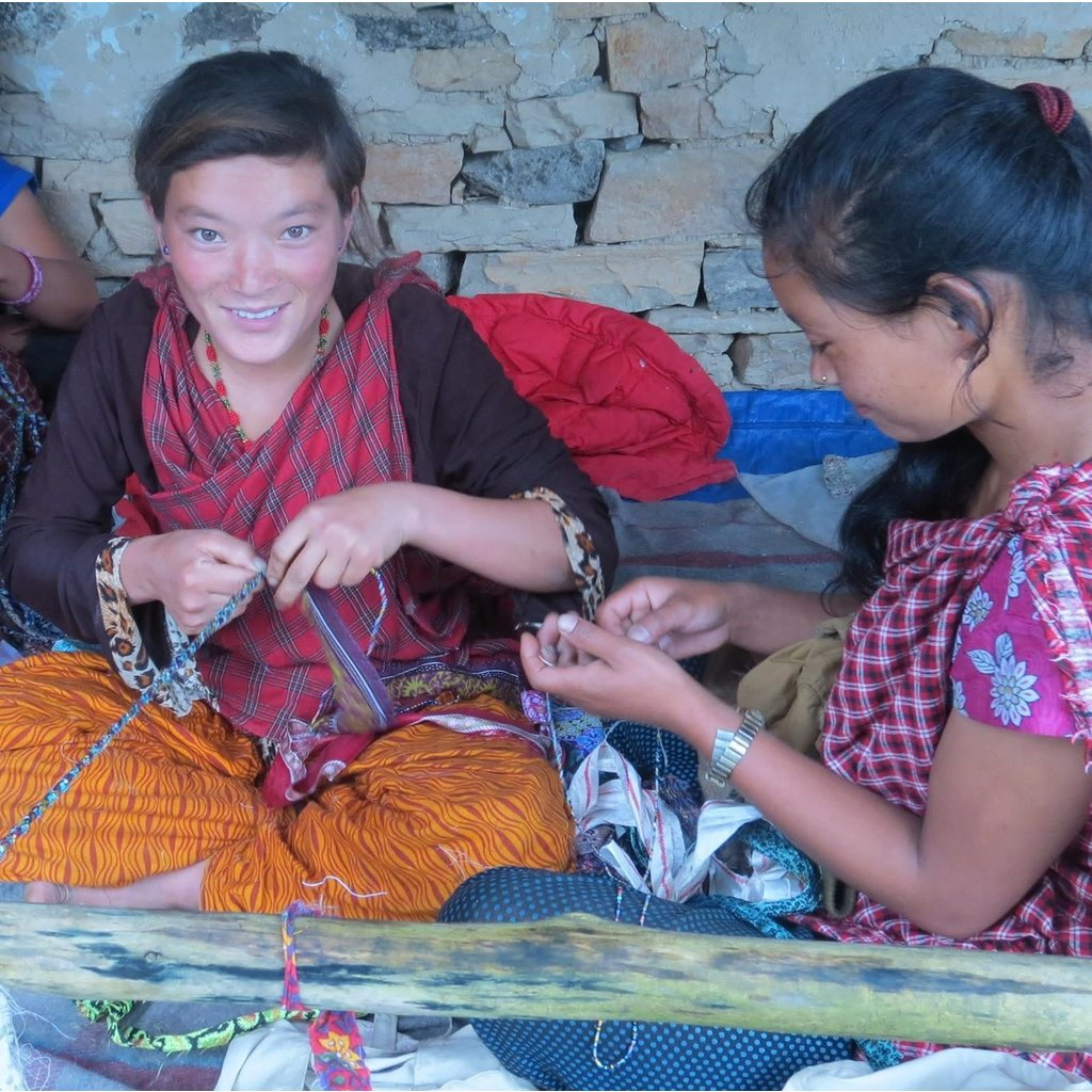 Ganesh Himal Recycled Silk Sari Treasure Box