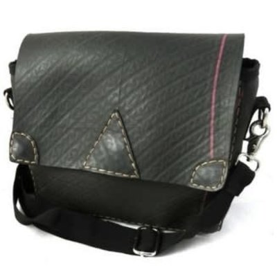 Ganesh Himal Recycled Tire Messenger Bag