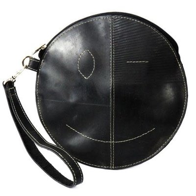 Global Crafts Recycled Tire Round Wristlet