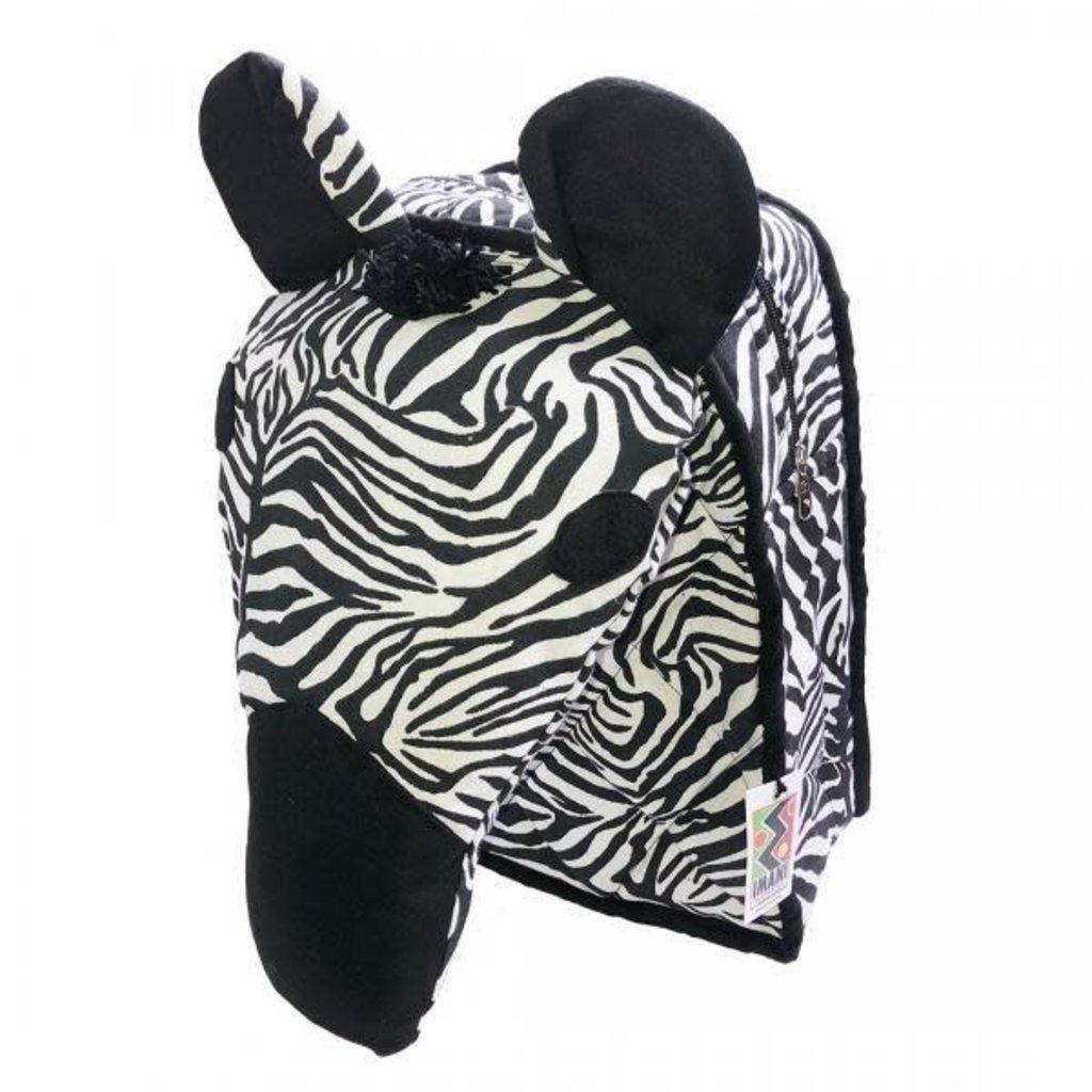 Imani Workshops Zebra Backpack
