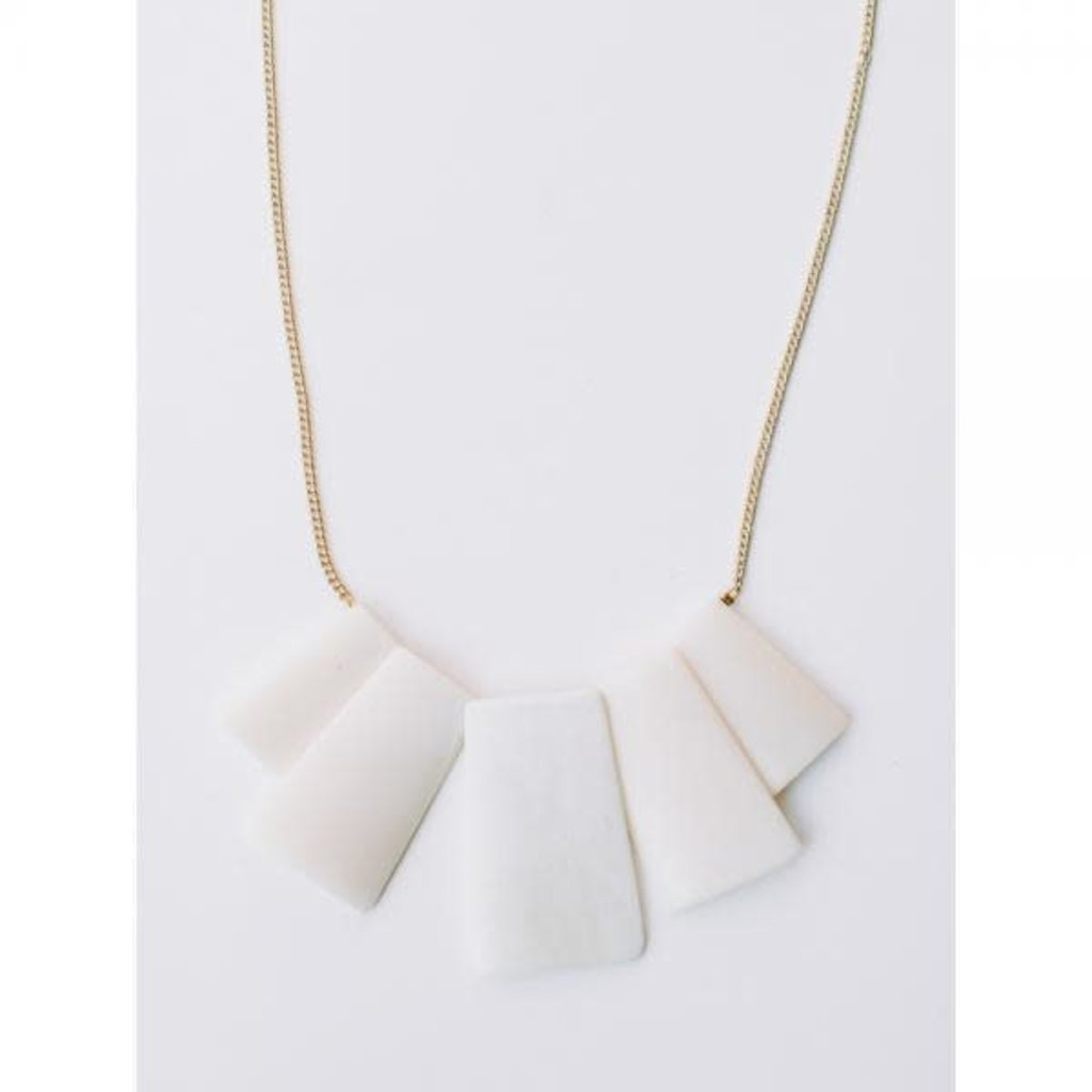 Mata Traders Voyager in White Necklace