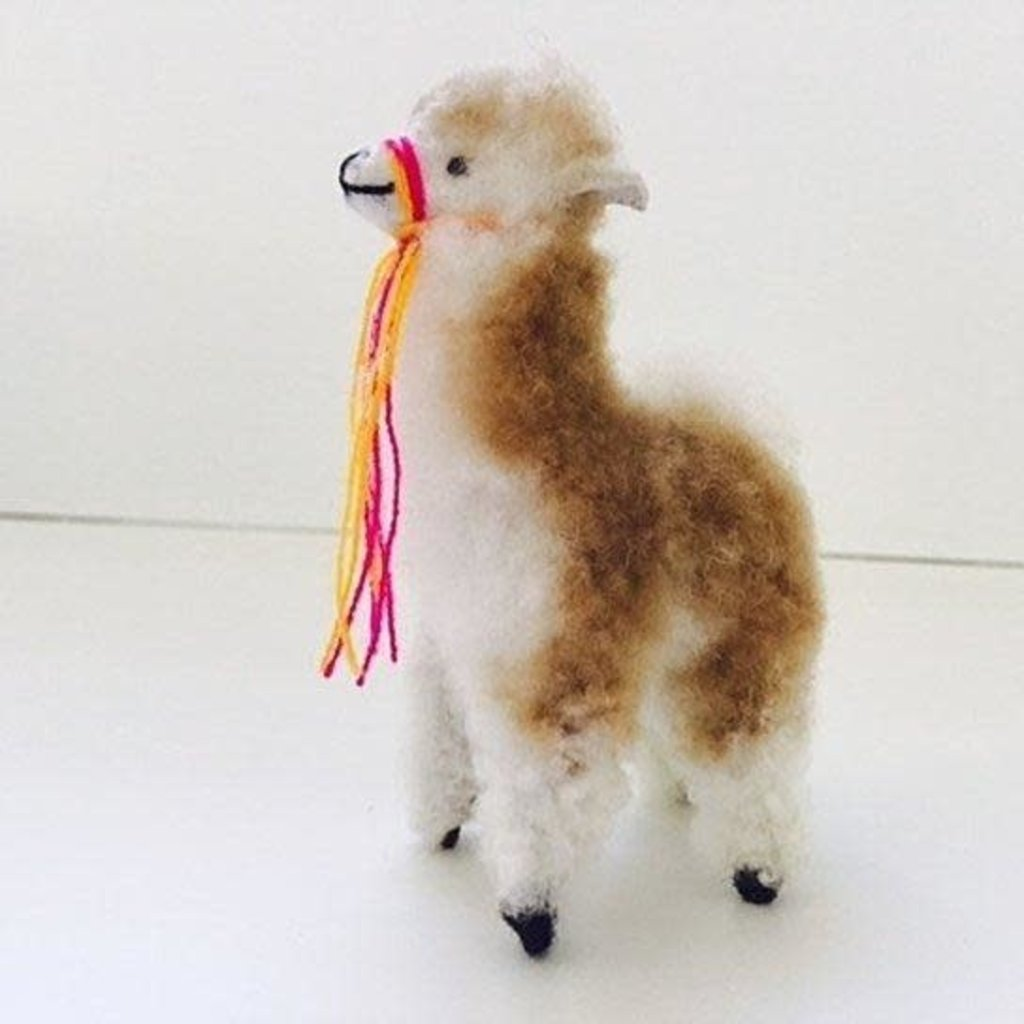 Blossom Inspirations Vicuna Alpaca Stuffed Animal 8 inches