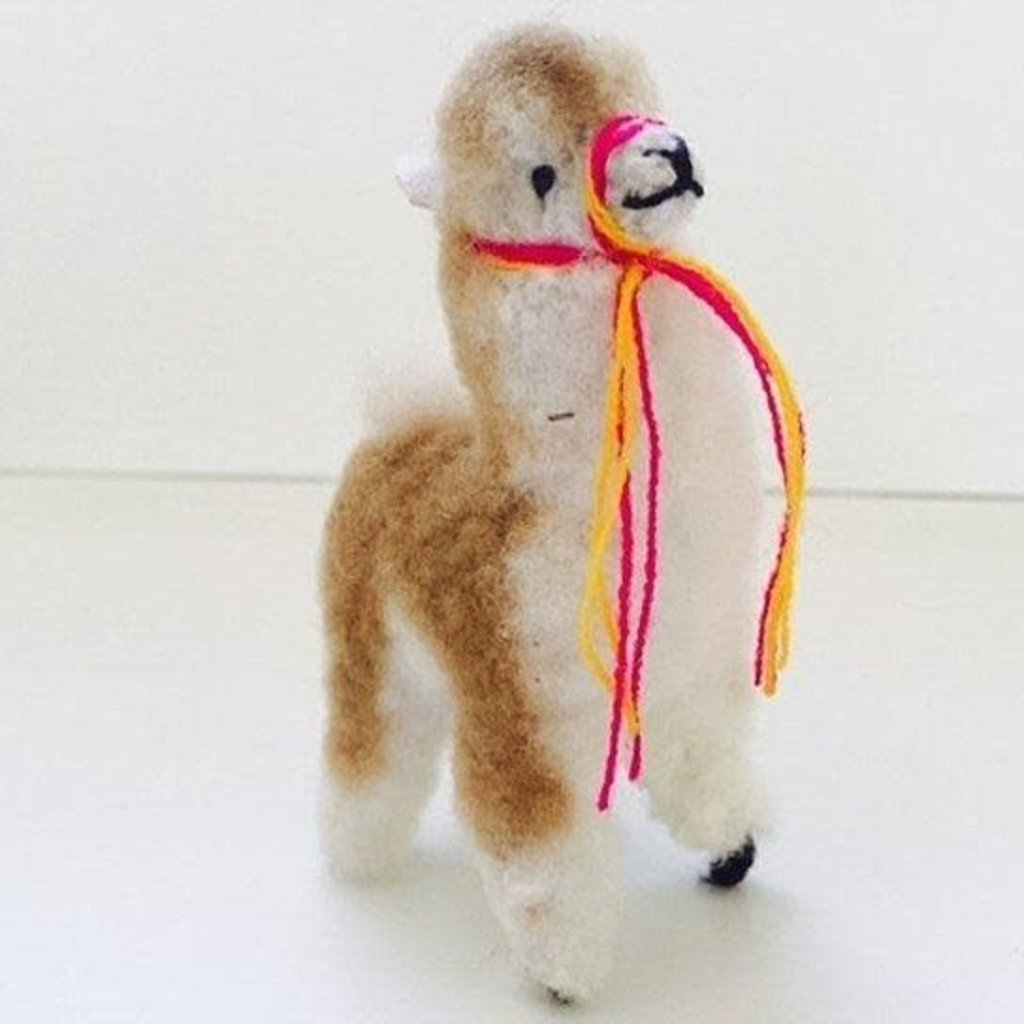 Blossom Inspirations Vicuna Alpaca Stuffed Animal 8 inches