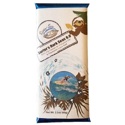 River-Sea Chocolate Surfer's Dark Seas 80% Dark Chocolate
