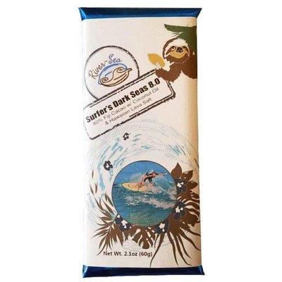 River-Sea Chocolate Surfer's Dark Seas 80% Dark Chocolate