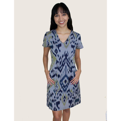 Passion Lilie Veronica Ikat Dress