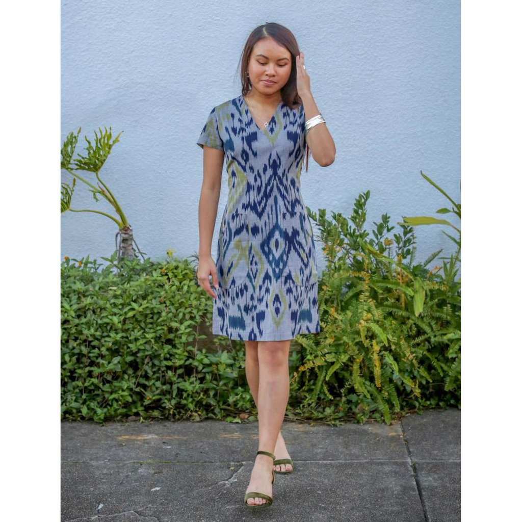 Passion Lilie Veronica Ikat Dress