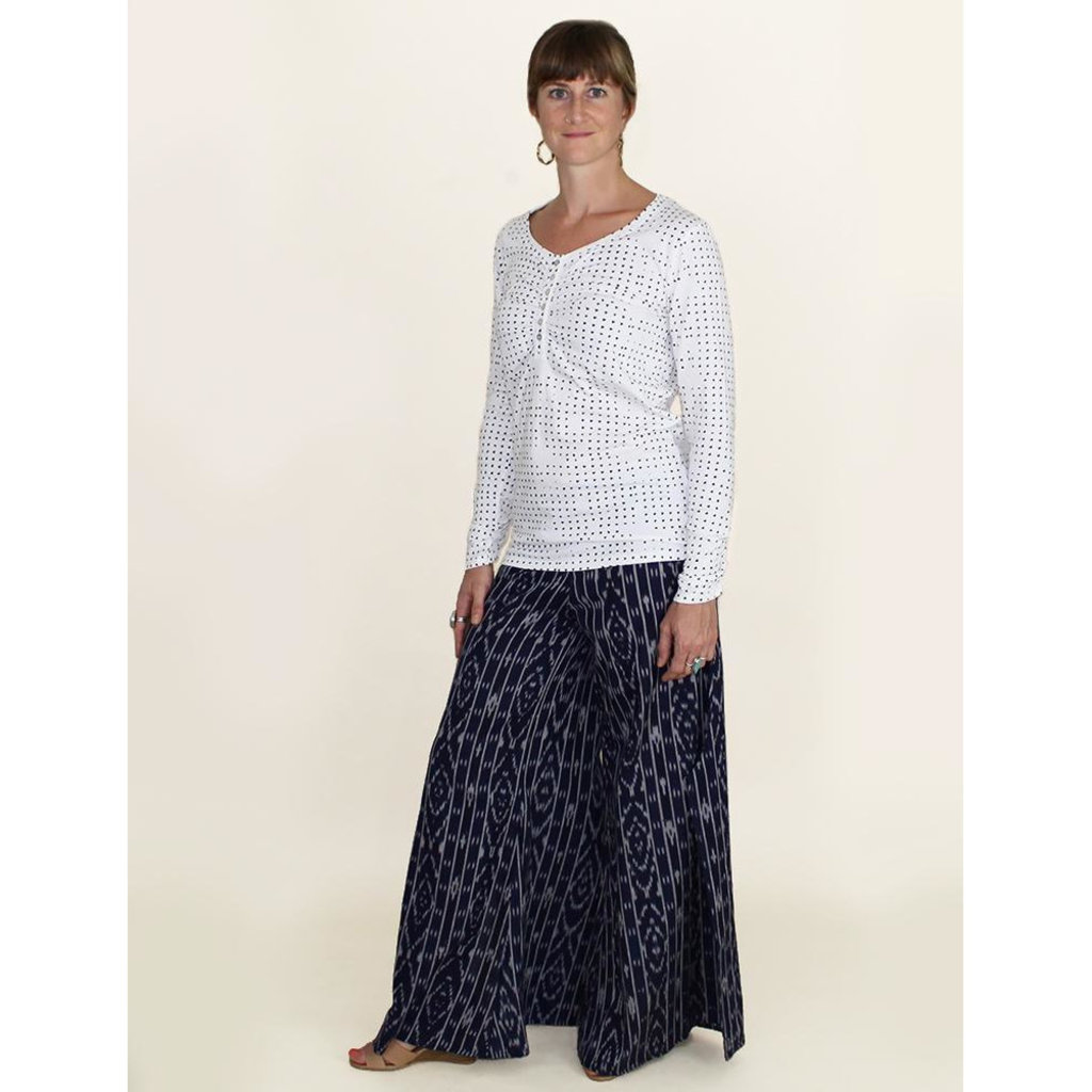 Passion Lilie Nautical Navy Pants