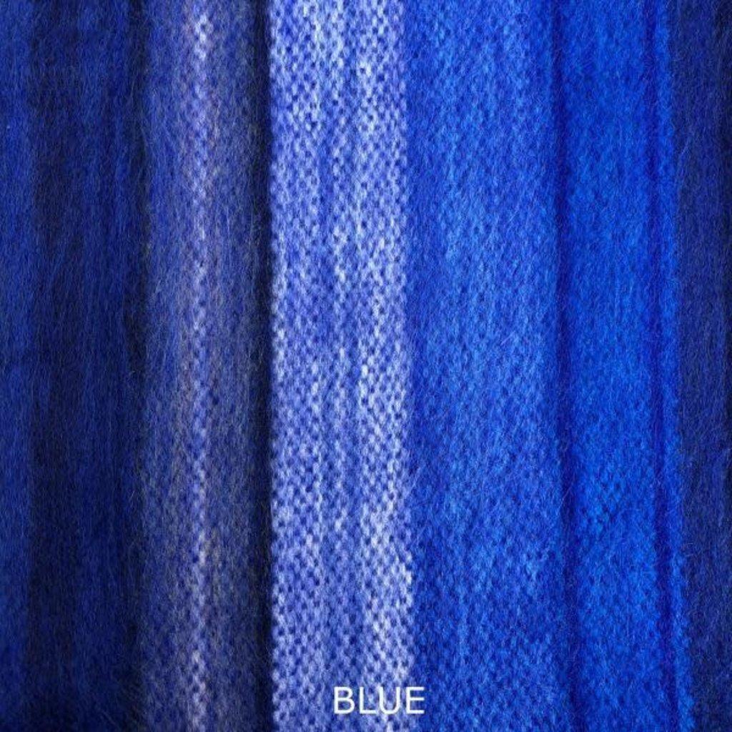 """Minga Imports Woven Acrylic Blanket 65"""" x 90"""