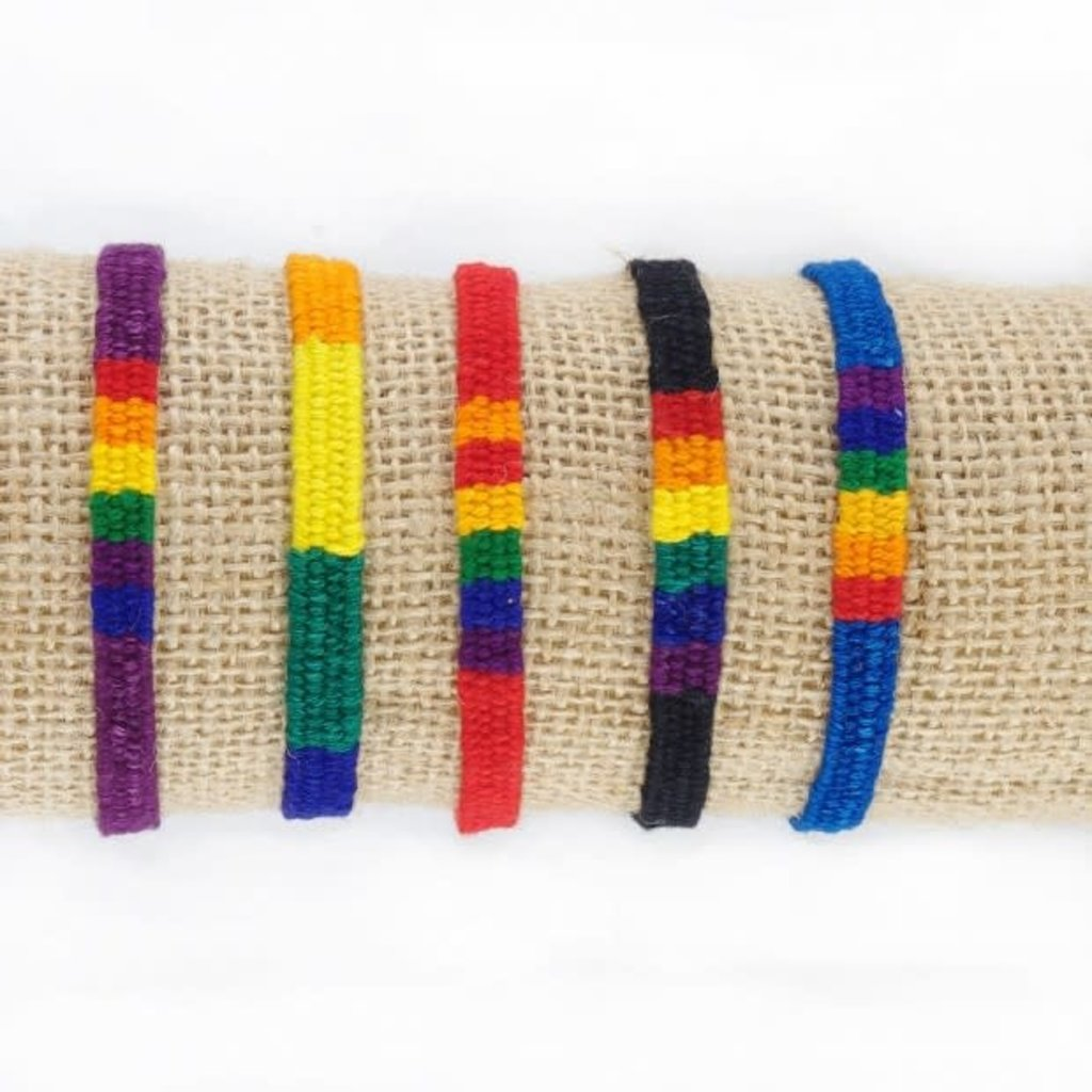 Lucia's Imports San Antonio Rainbow Friendship Bracelet