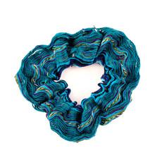 Lucia's Imports San Antonio Woven Hair Scrunchie