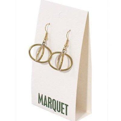 Marquet Fair Trade Sanoon Brass Earrings