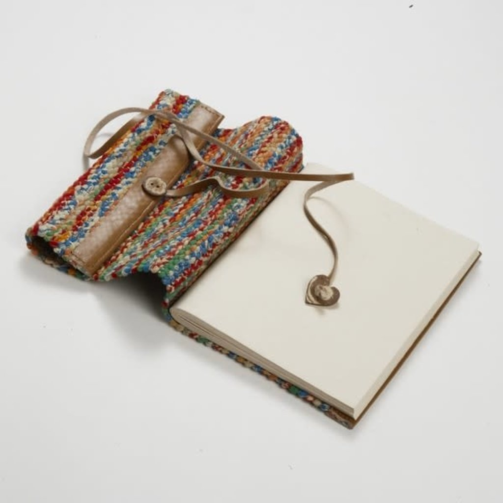 Ten Thousand Villages Sari & Leather Travel Journal