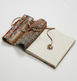Ten Thousand Villages Sari & Leather Travel Journal