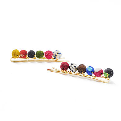World Finds Sari Chic Kantha Hair Pins
