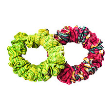 World Finds Sari Chic Mini Scrunchies