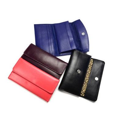 Minga Imports Sheepskin Leather Wallet