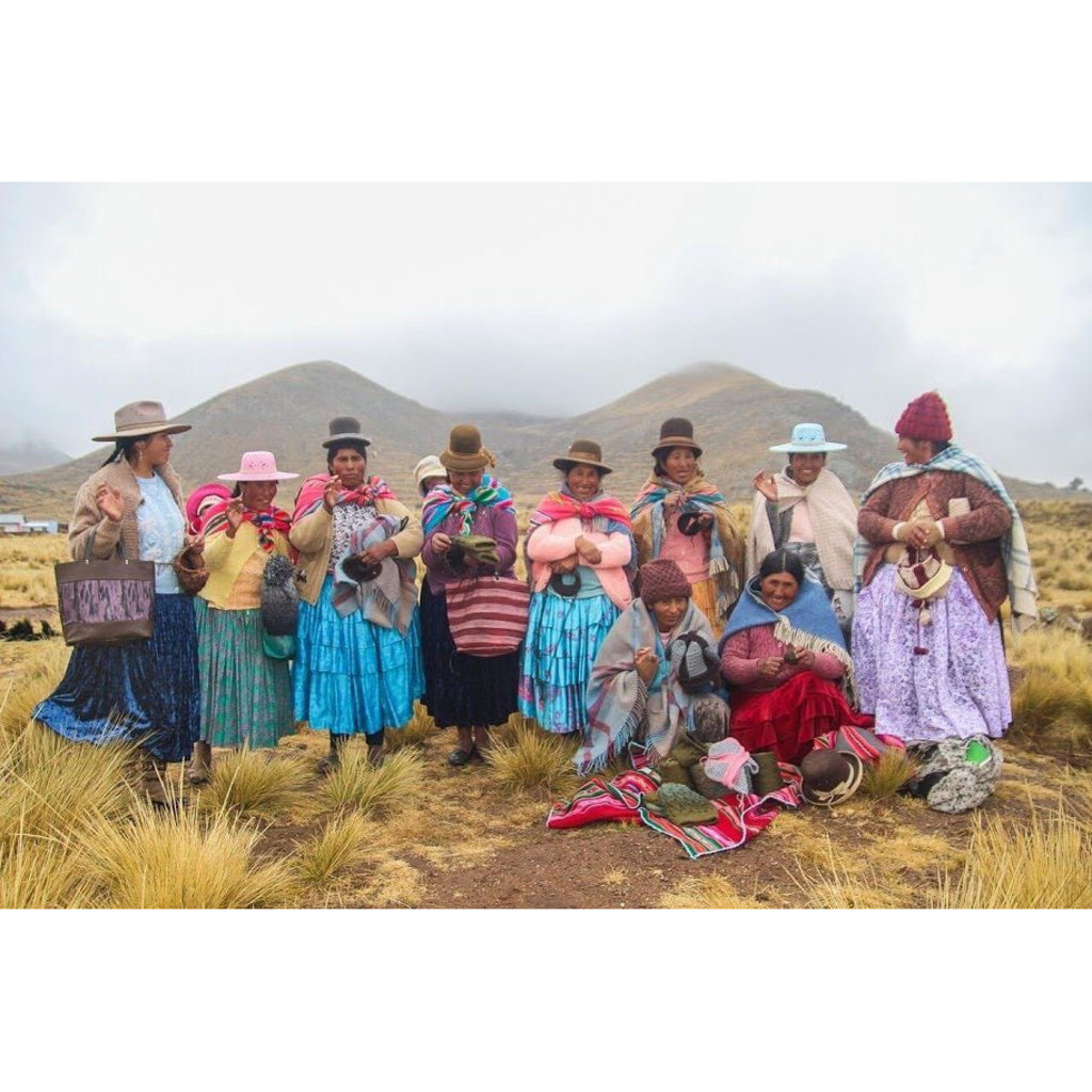 Andes Gifts Sierra Alpaca Armwarmers