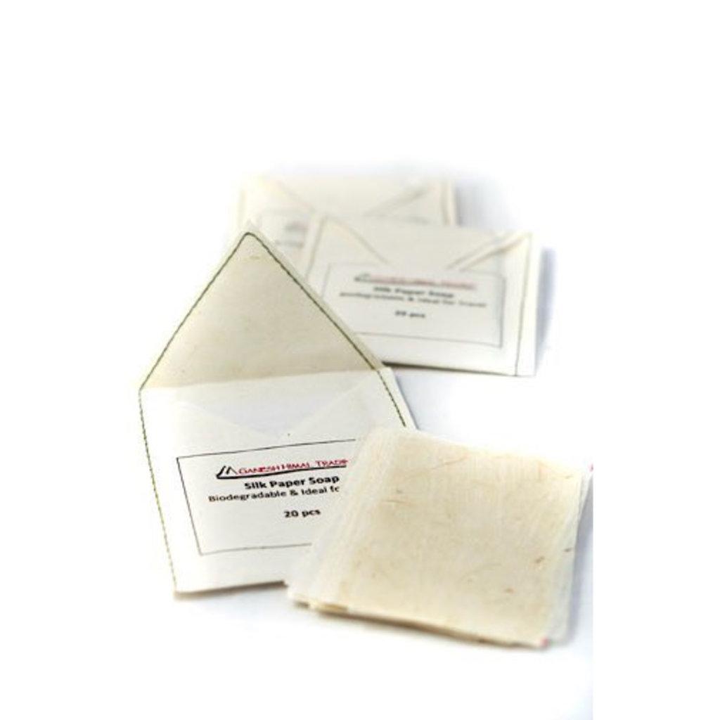 Ganesh Himal Silk Paper Soap 20 Sheet Packet